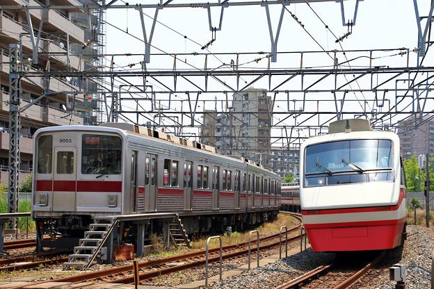 7601列車充当車両と1409列車