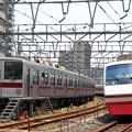 Photos: 7601列車充当車両と1409列車