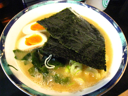 味玉子ラメ〜ン700円