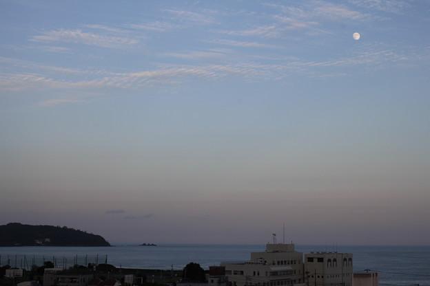 真鶴半島とお月様