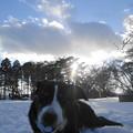 写真: 13・1・20雪遊び・・