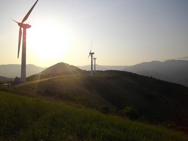 東伊豆町風力発電所(静岡県東伊豆町)