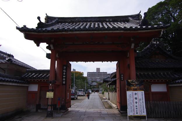 浄福寺東門