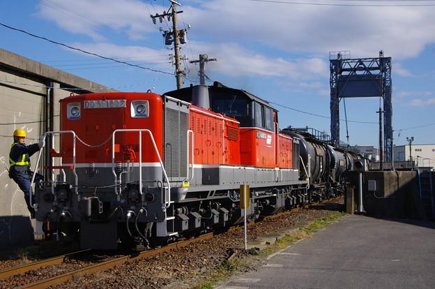 DD51+タキ1900形