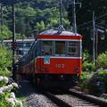 箱根登山鉄道モハ1形+モハ2形