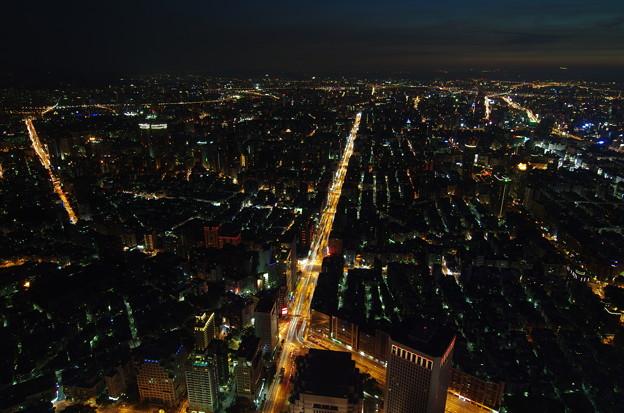 台北101の夜景
