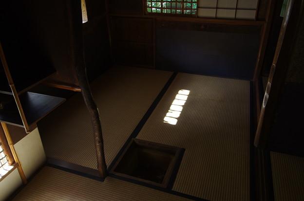 高桐院茶室