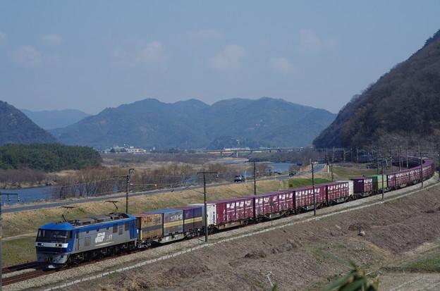 Photos: EF210+コキ100系