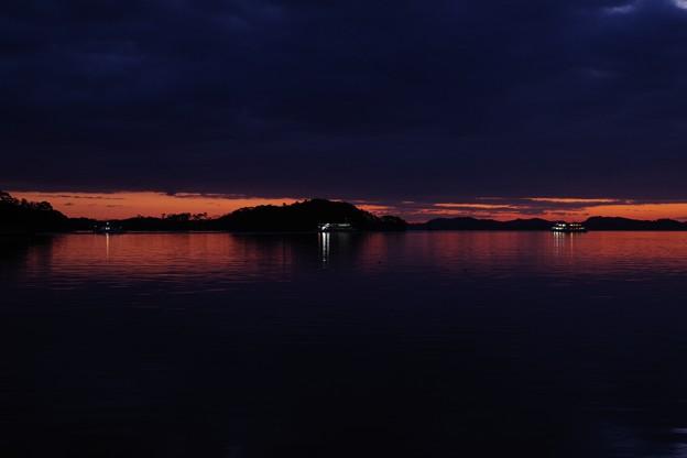 松島海岸 初日の出