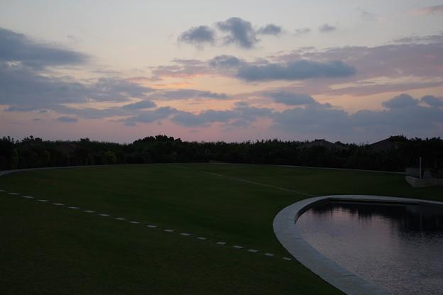 竹富島の日の出