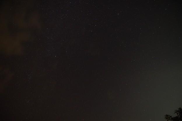 竹富島の星景