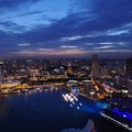 Photos: Night view from Sands Sky Park