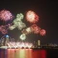 Photos: F1 Singapore Grand Prix 2018 Fireworks