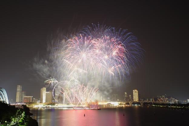 F1 Singapore Grand Prix 2018 Fireworks