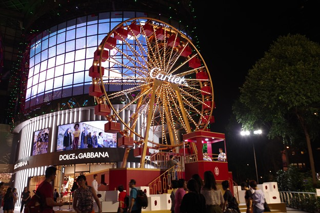 Photos: Orchard Road Light-up 2018