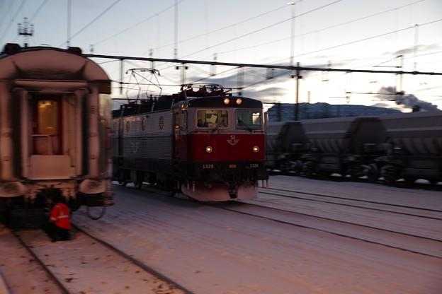 SJ Rc6形+客車