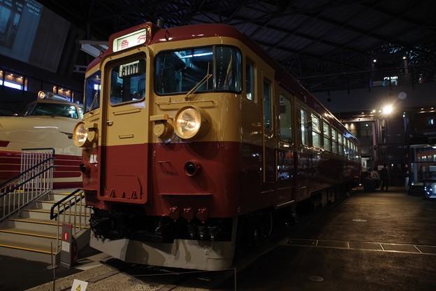 鉄道博物館 クモハ455