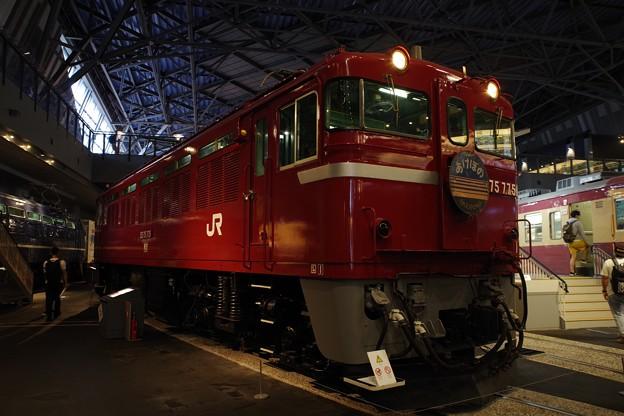 鉄道博物館 ED75