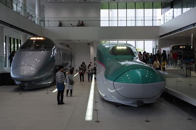 鉄道博物館 400系&E5系