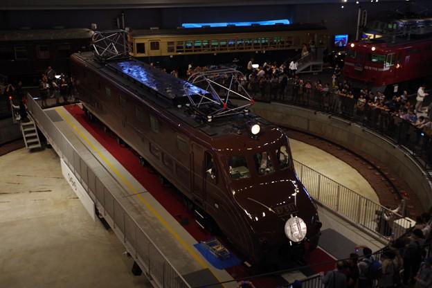 鉄道博物館 EF55