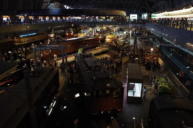 鉄道博物館 車両ステーション全景