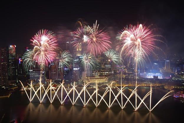 National Day Parade NEShow Fireworks