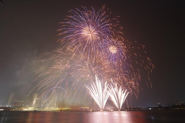 F1 Singapore Grandprix Fireworks