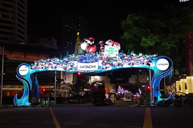 Photos: Night view at Orchard Road