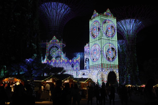 Gardens by the Bay Christmas Wonderland 2019