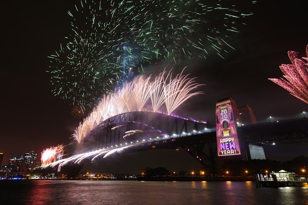 Sydney New Year Eve Fireworks