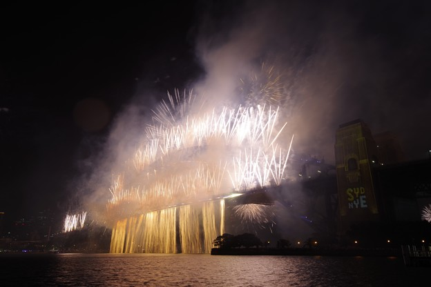 Photos: Sydney New Year Eve Fireworks