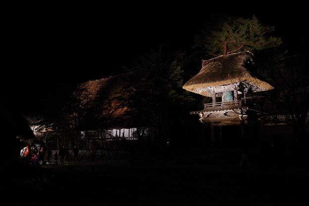 白川郷ライトアップ