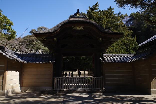 円覚寺楼門