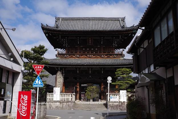 清涼寺仁王門