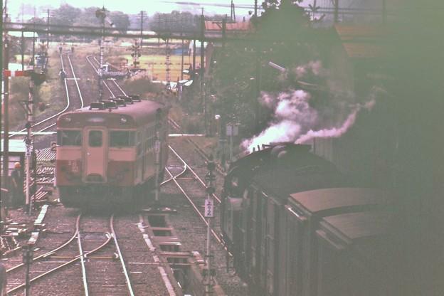 Photos: 只見線列車交換