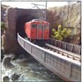 Photos: 渓谷のローカル線1