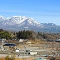 写真: 八ヶ岳に向かって