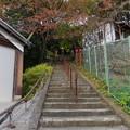 千姫天満宮と男山八幡宮への階段入口