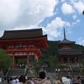 清水寺の入口辺り