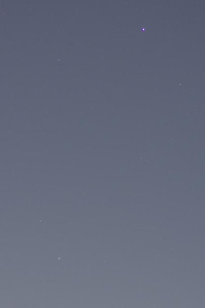 ベランダからアイソン彗星とスピカ