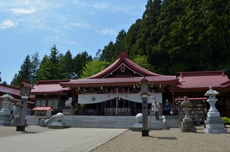 金蛇水神社・拝殿