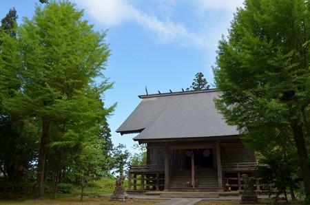 鳥海山大物忌神社・蕨岡口之宮 社殿