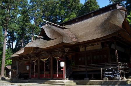 熊野大社・拝殿
