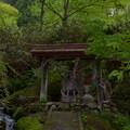 写真: 早池峰神社 大迫・不動明王像
