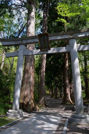 十和田神社・一の鳥居