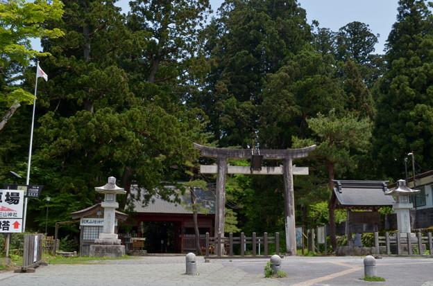 写真: 出羽神社・二ノ鳥居