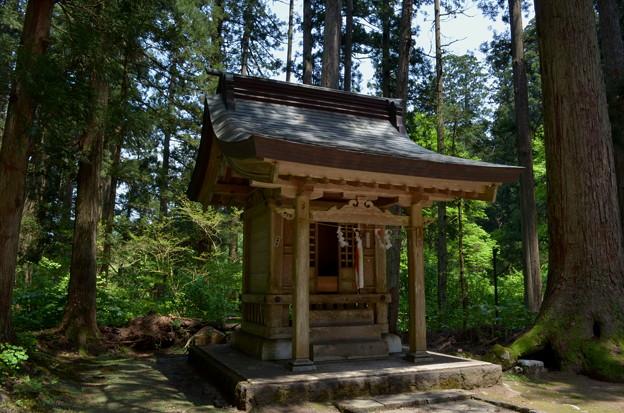 写真: 出羽神社・根裂神社