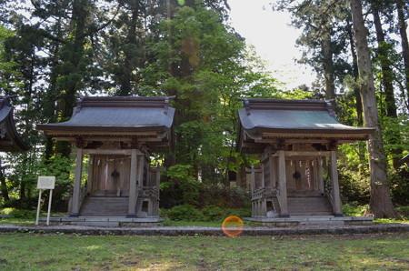 出羽神社 稲荷神社・大山祗神社