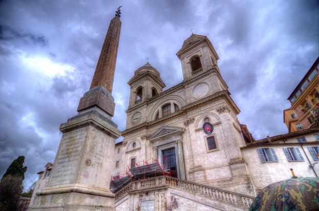 トリニタ・デイ・モンティ教会 (スペイン広場)
