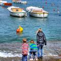海と子ども達